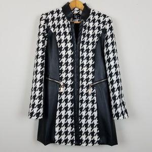 Lena Gabrielle Houndstooth Jacket A1209